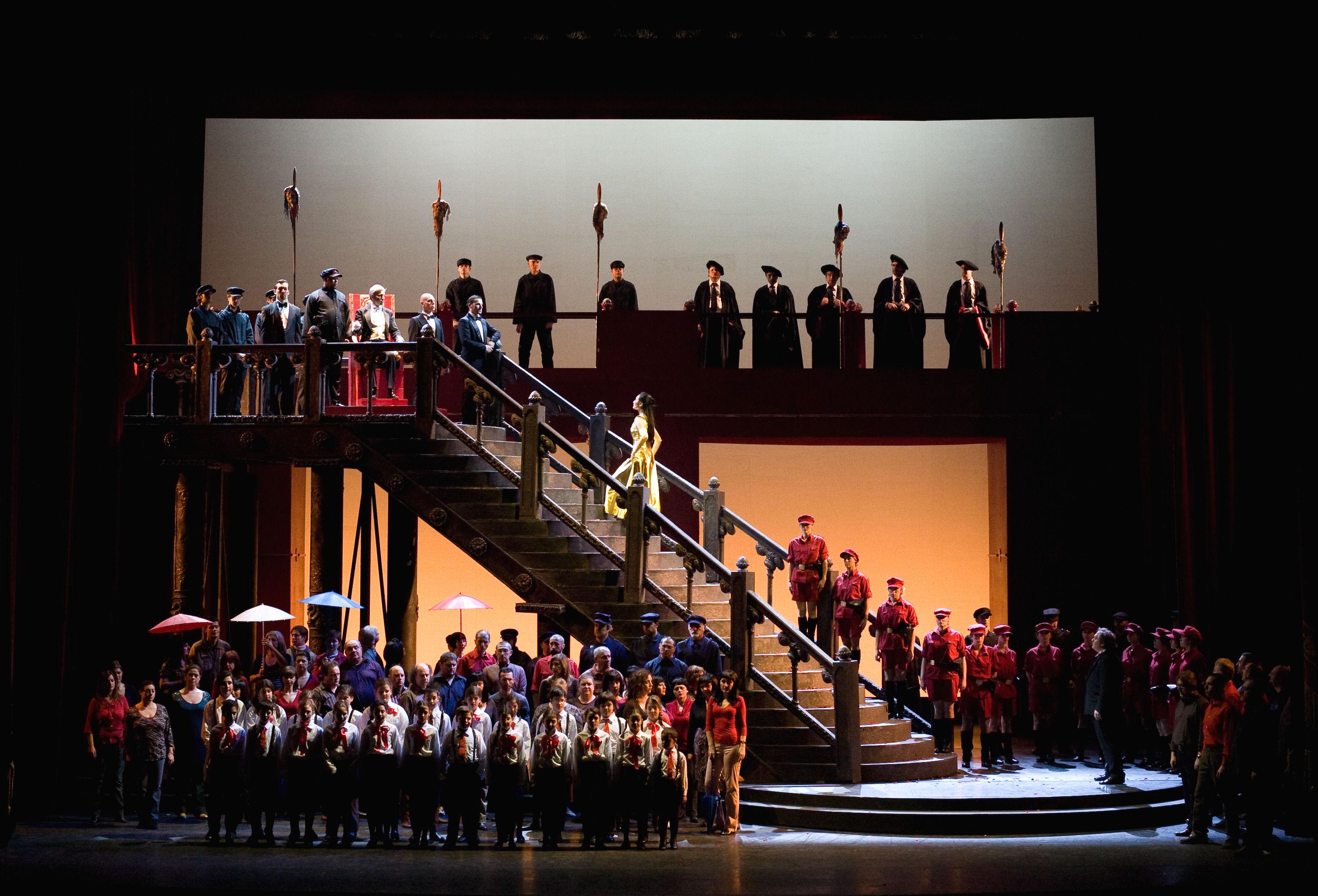 """""""Turandot"""" al Teatro Filarmonico di Verona"""