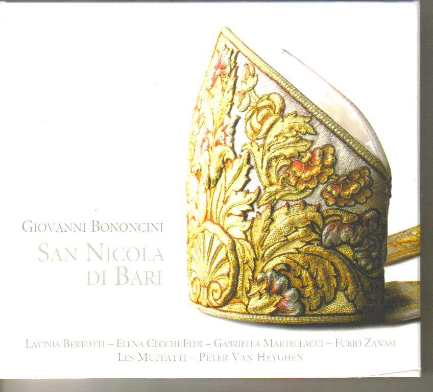 """Giovanni Bononcini (1670-1747):""""San Nicola di Bari"""""""