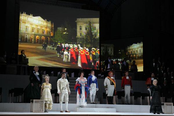 """""""Il Viaggio a Reims"""" torna al Teatro alla Scala"""