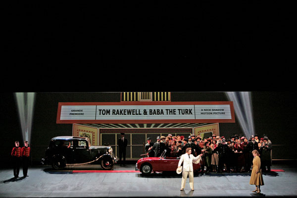 """The rake's progress"" al Teatro alla Scala"