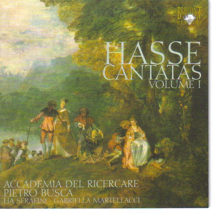 Johann Adolf Hasse (1699-1783): Cantate vol.1