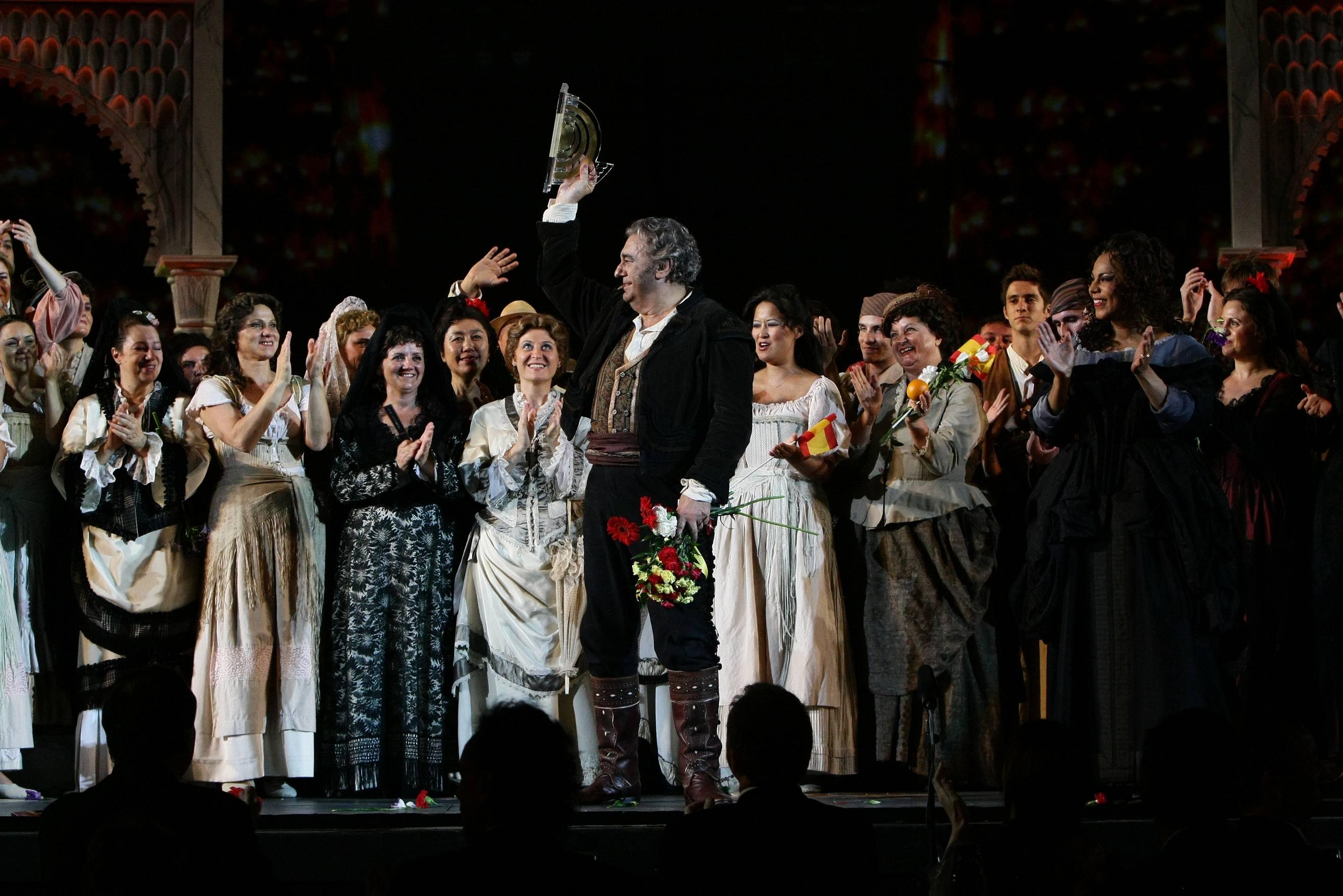 L'Arena di Verona celebra Placido Domingo per i 40 anni dal suo debutto areniano