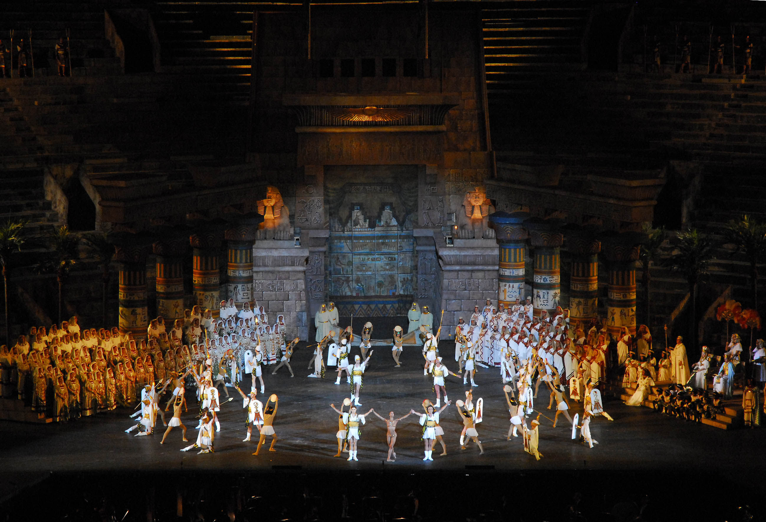 "Arena di Verona Opera Festival 2009:""Aida"""