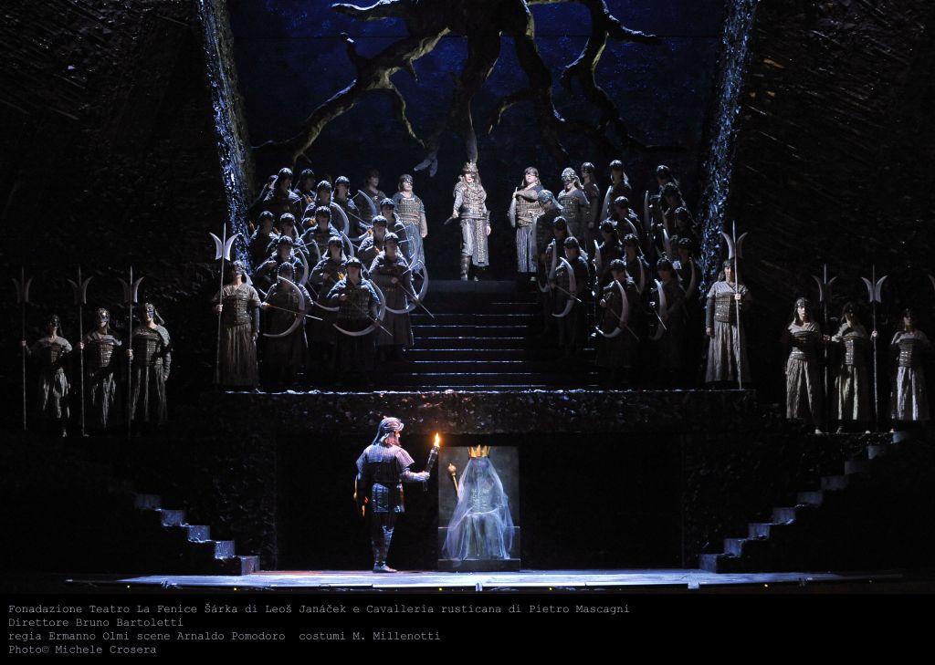 """Venezia, Teatro La Fenice: """"Šárka"""", """"Cavalleria Rusticana"""""""