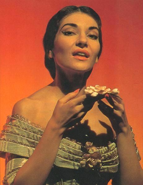 """""""La Traviata"""" di Maria Callas"""