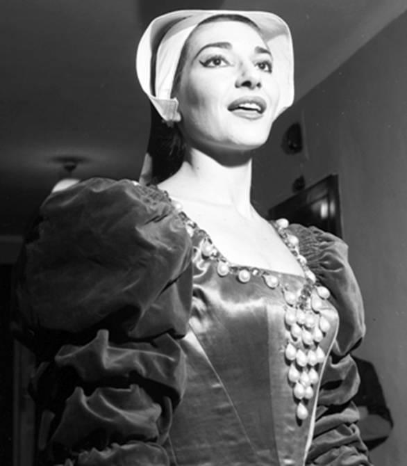 """Maria Callas in """"Anna Bolena"""""""