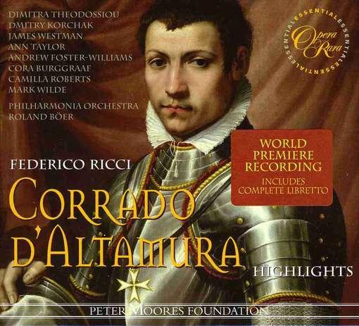 """Federico Ricci (1809-1877):""""Corrado d'Altamura"""" (selezione dell'opera)"""