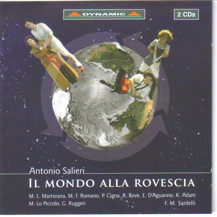 """Antonio Salieri (1750 – 1825):"""" Il mondo alla rovescia"""""""