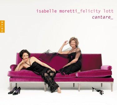 "Le salon de Musique de Marie-Antoniette / Isabelle Moretti e Felicity Lott:""Cantare"""