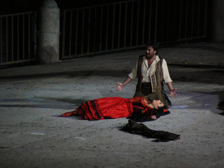 "Verona, Arena Opera Festival 2010:""Carmen"""