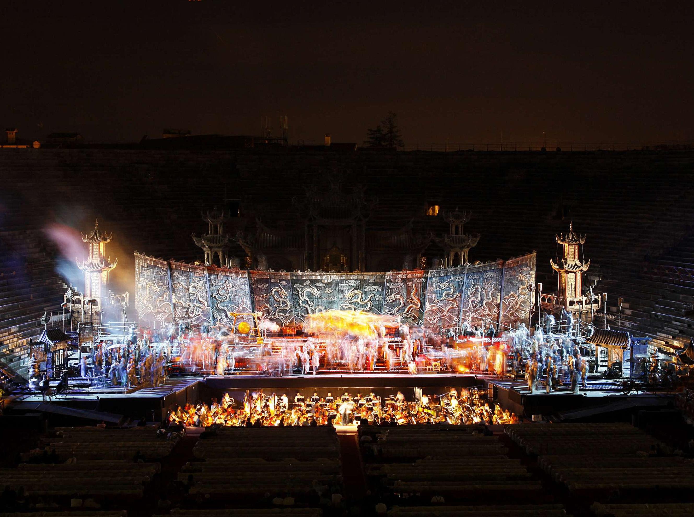"Verona, Arena Opera Festival 2010: ""Turandot"""