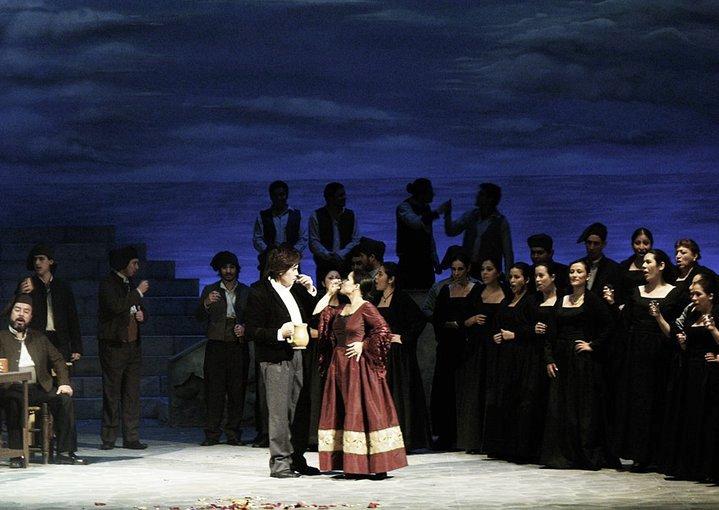 """Lima, Teatro Segura:""""Cavalleria rusticana"""" e """"Pagliacci"""""""