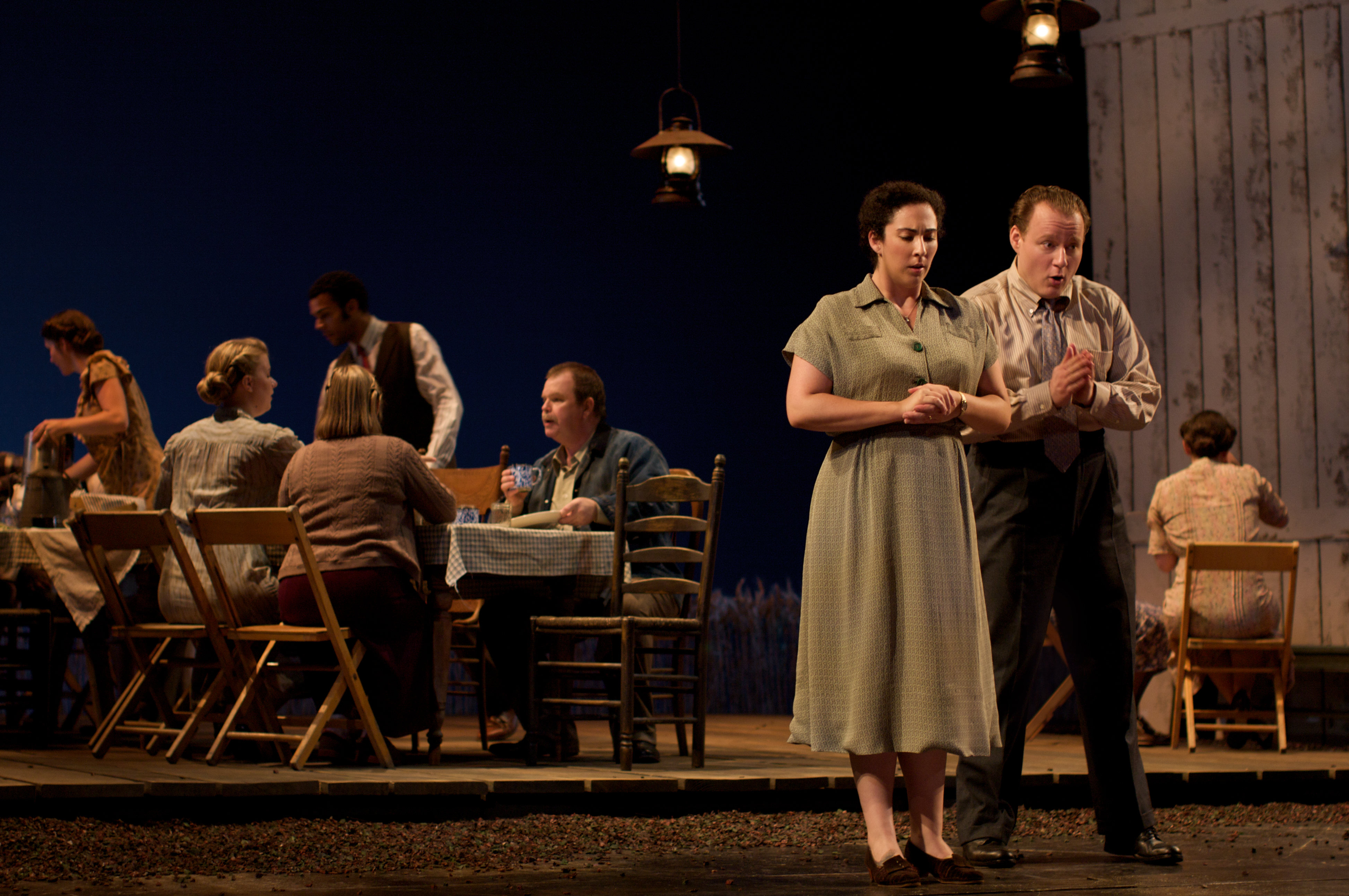 """Cooperstown NY, Glimmerglass Opera Festival 2010:""""The Tender Land"""""""