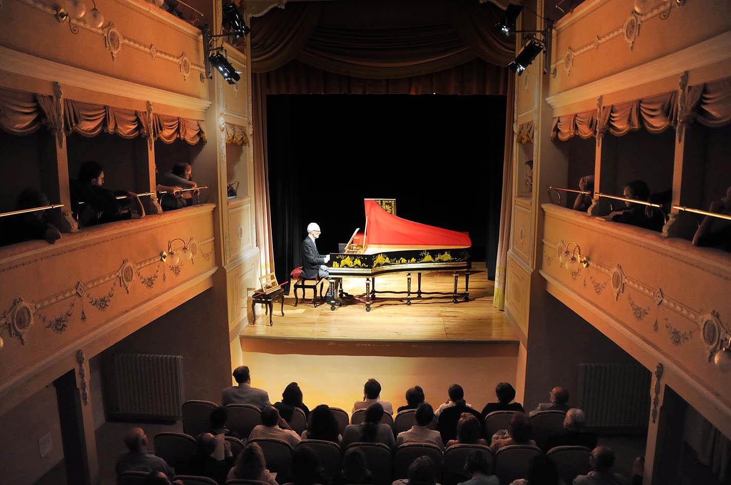 Gustav Leonhardt al clavicembalo