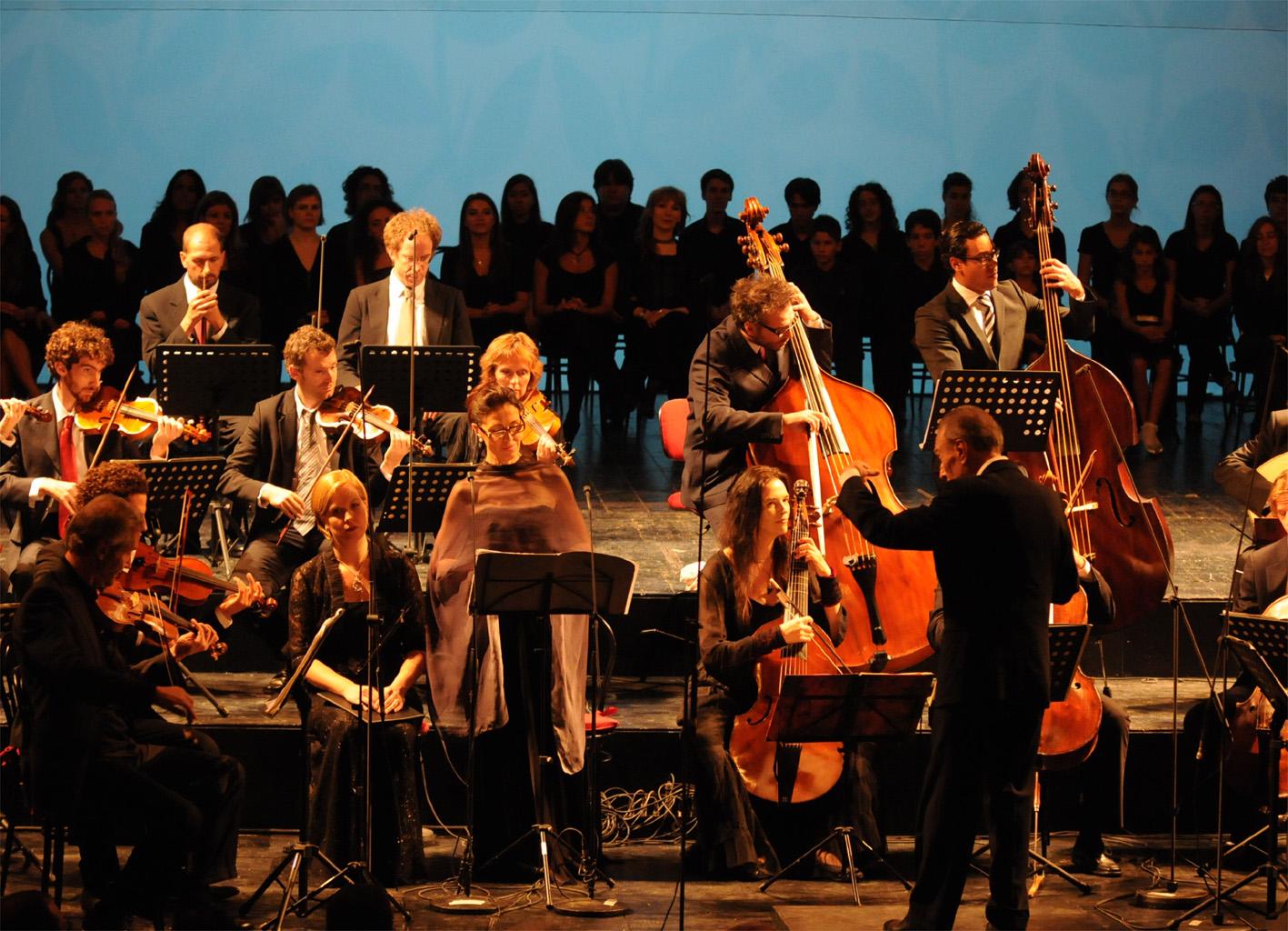 Jesi, Teatro Pergolesi: Claudio Abbado esegue Bach e Pergolesi