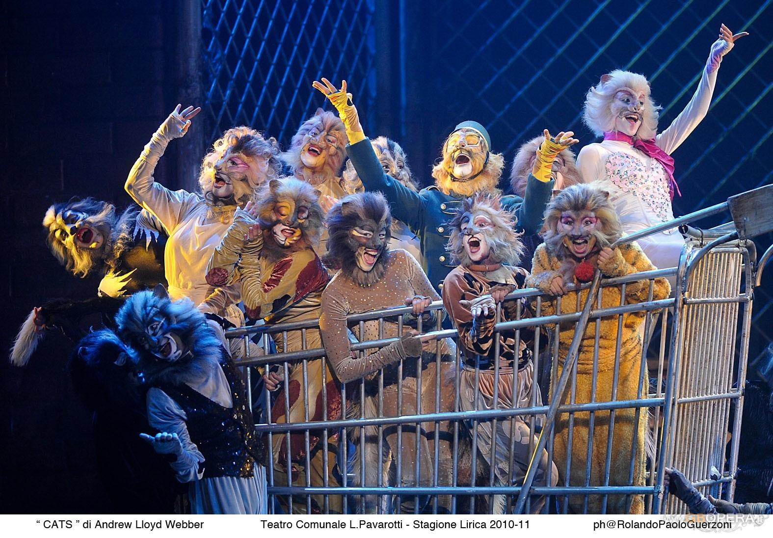 """Modena, Teatro Comunale:""""Cats"""""""