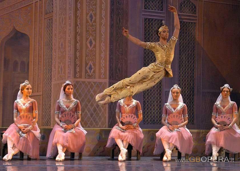 """Trieste, Teatro Verdi:""""La Bayadere"""""""