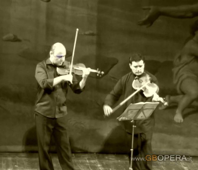 Concerto lirico per … violino, viola e arpa