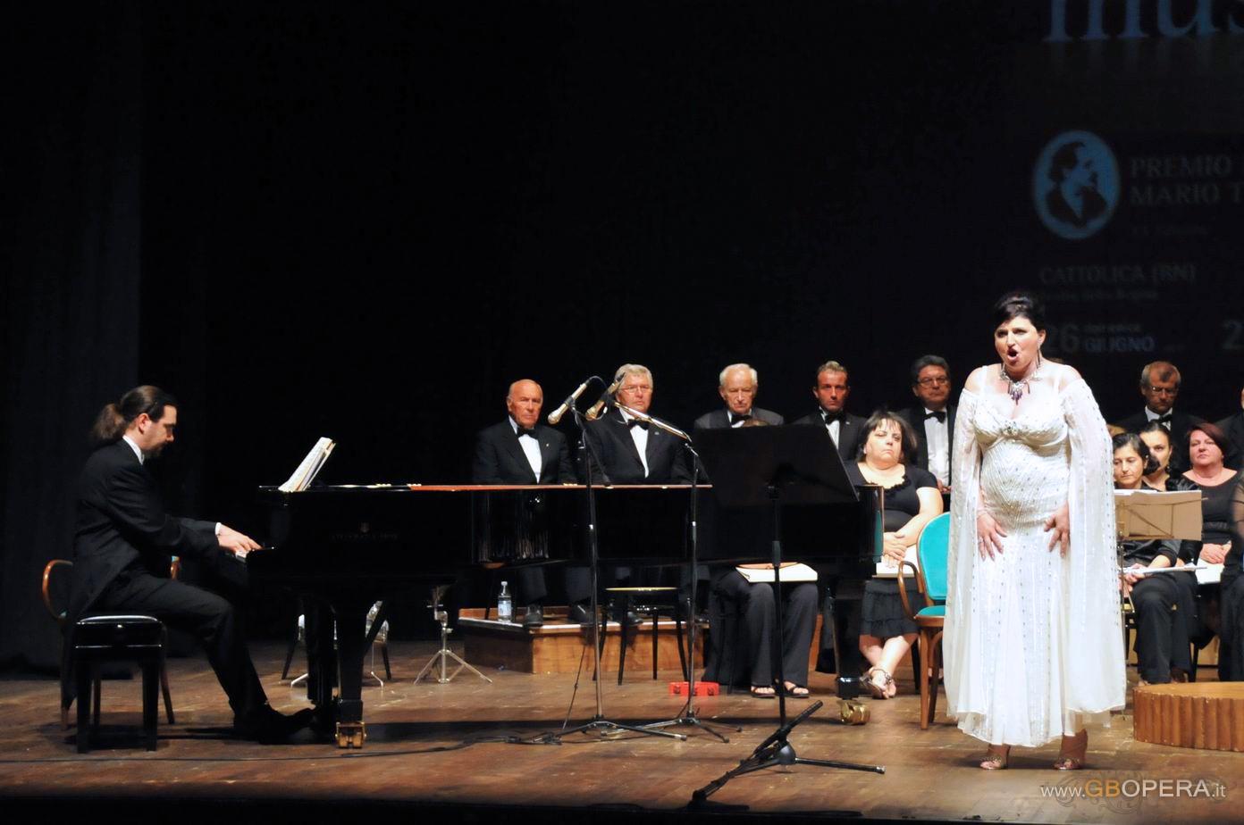 """Dimitra Theodossiou """"regina del melodramma"""" al Premio Tiberini XXa edizione"""