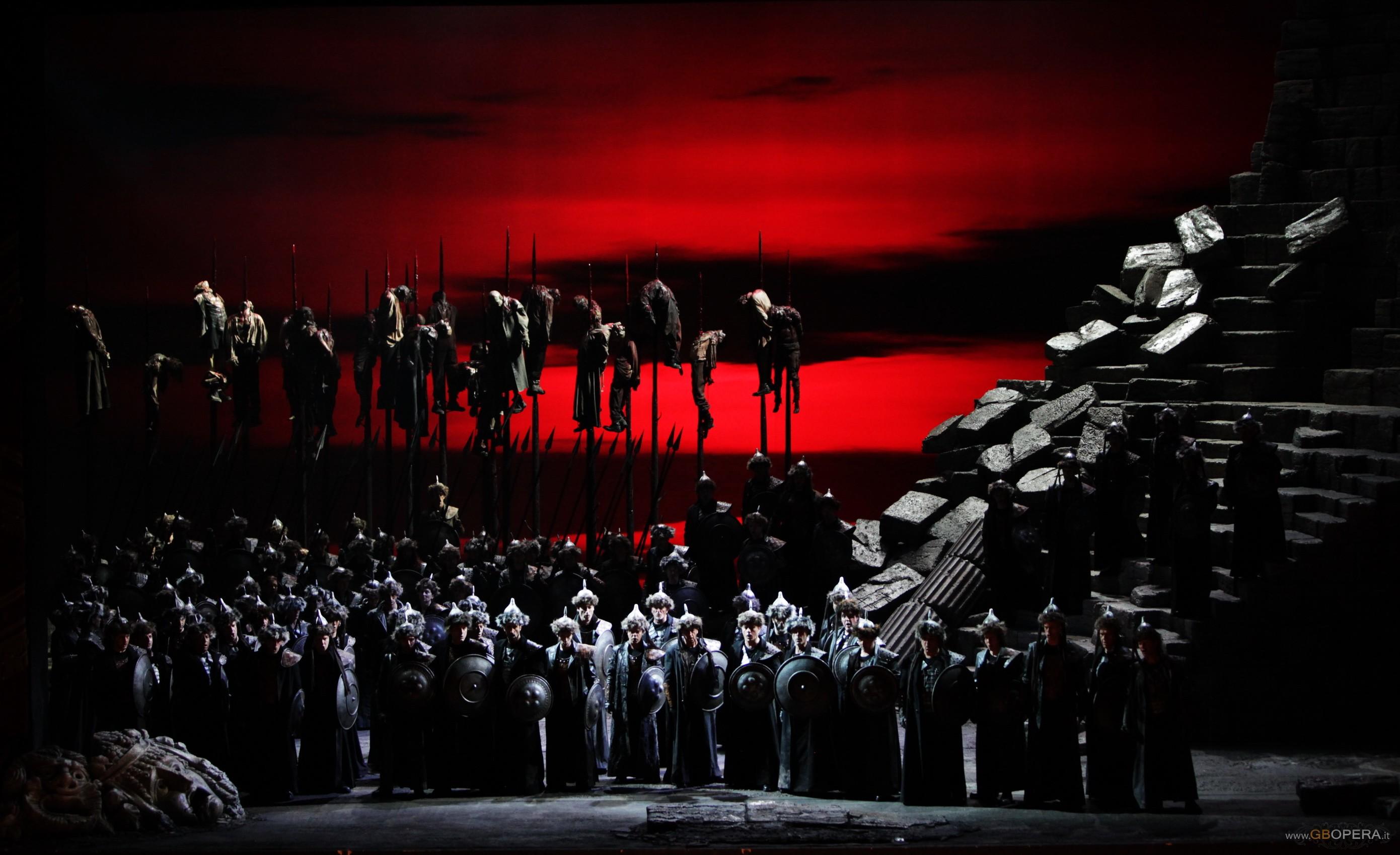 """Milano, Teatro alla Scala: """"Attila"""""""