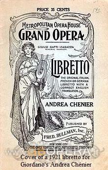 """Andrea Chénier"" tra verismo e dramma storico (seconda parte)"