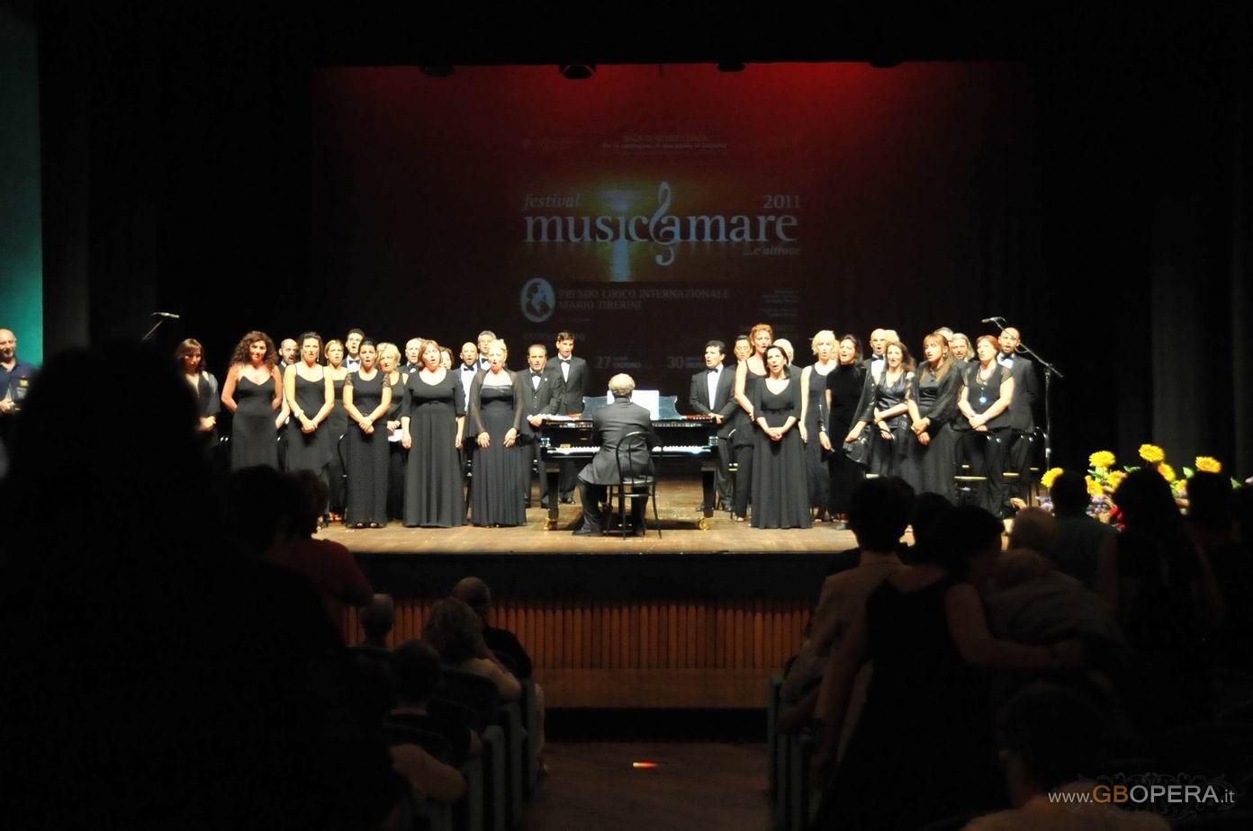 Il Coro del Teatro Regio di Parma a Cattolica