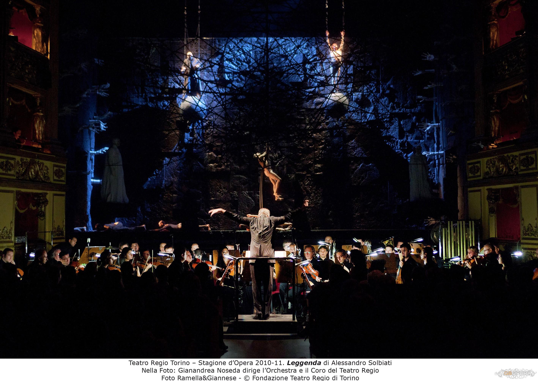 """Torino, Teatro Carignano:""""Leggenda"""""""