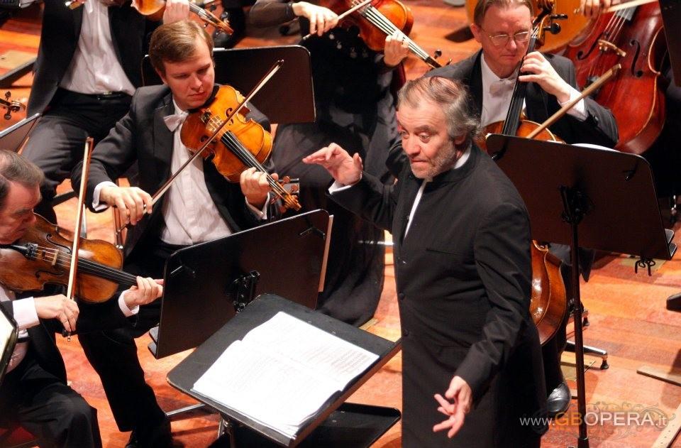 Palermo, Teatro Massimo:Valery Gergiev e l'orchestra del Mariinsky di San Pietroburgo
