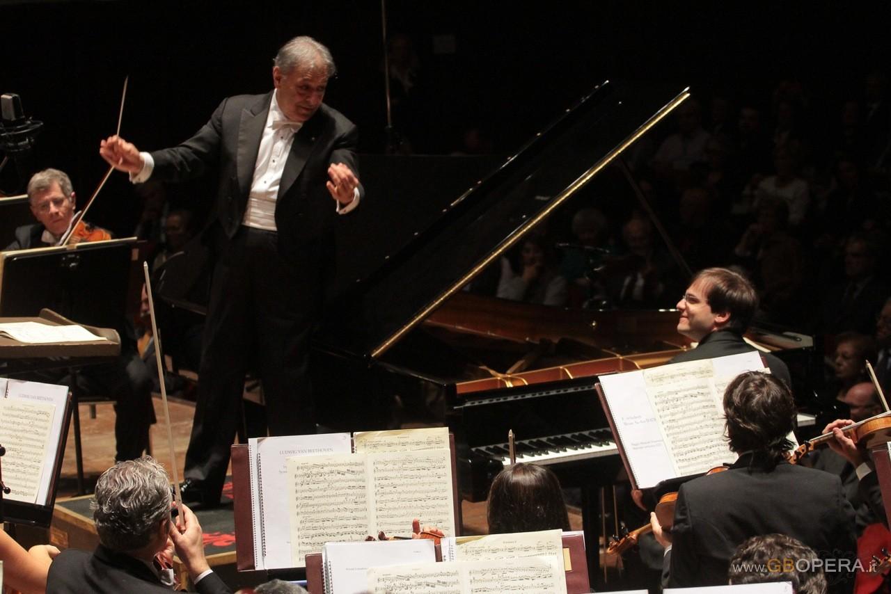 Zubin Mehta e Francesco Piemontesi al Maggio Musicale Fiorentino