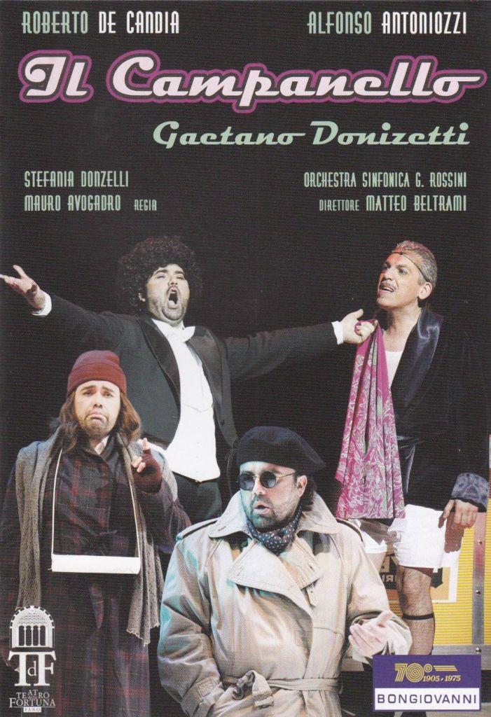 """Gaetano Donizetti (1797-1848): """"Il campanello"""""""