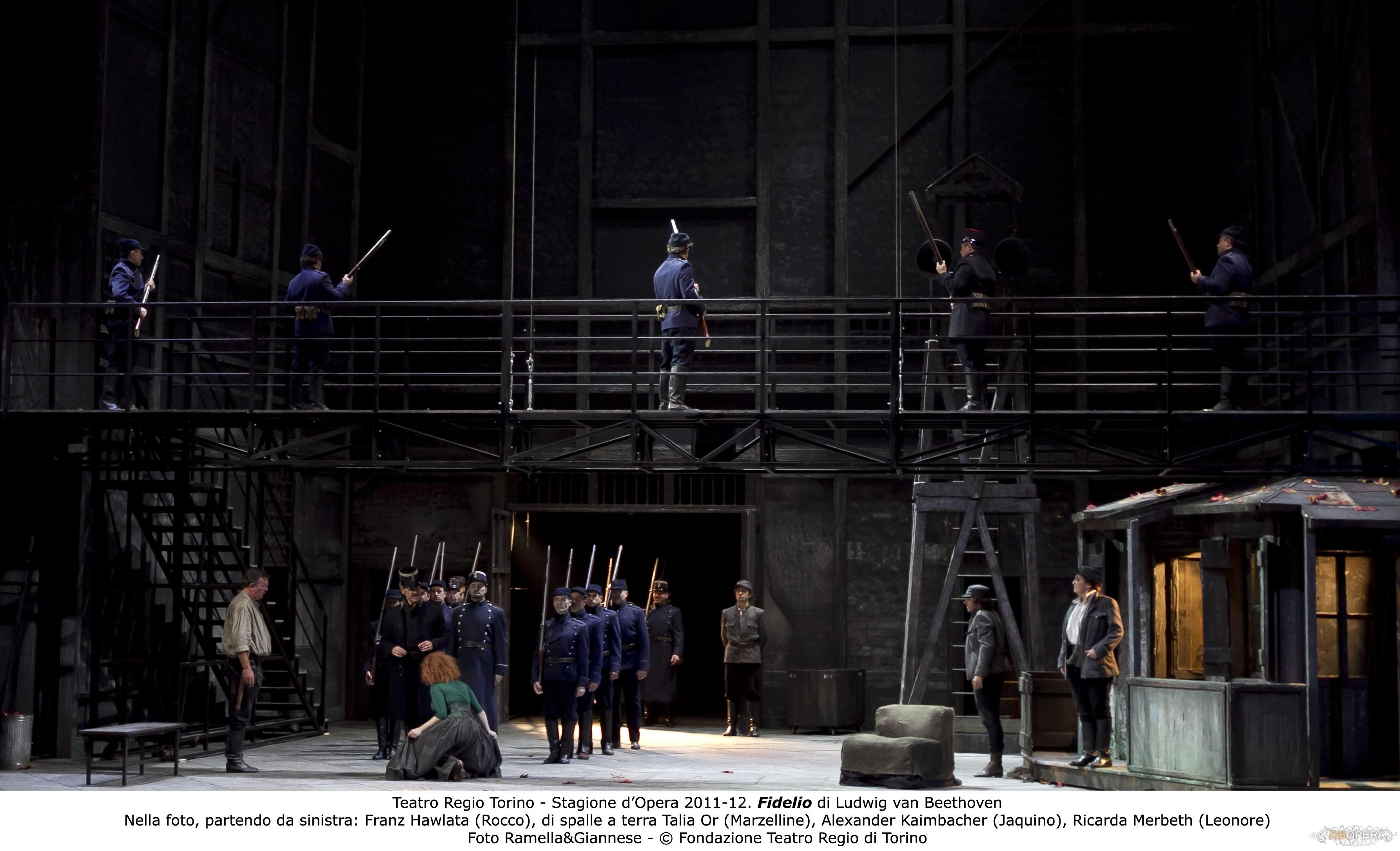 """Torino, Teatro Regio:""""Fidelio"""""""