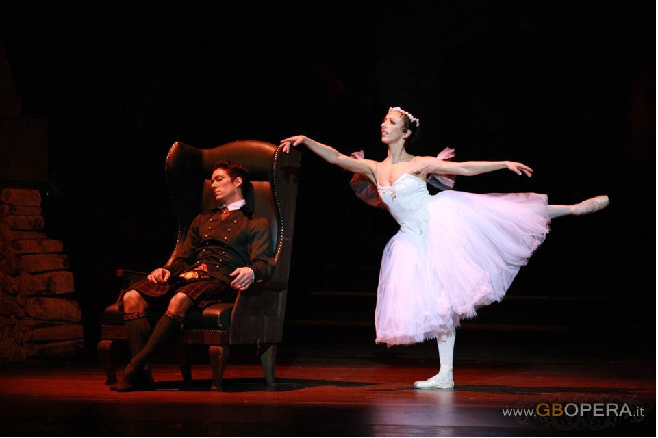 "Slovene National Theatre Opera e Ballet Ljubljana:""La Sylphide"""