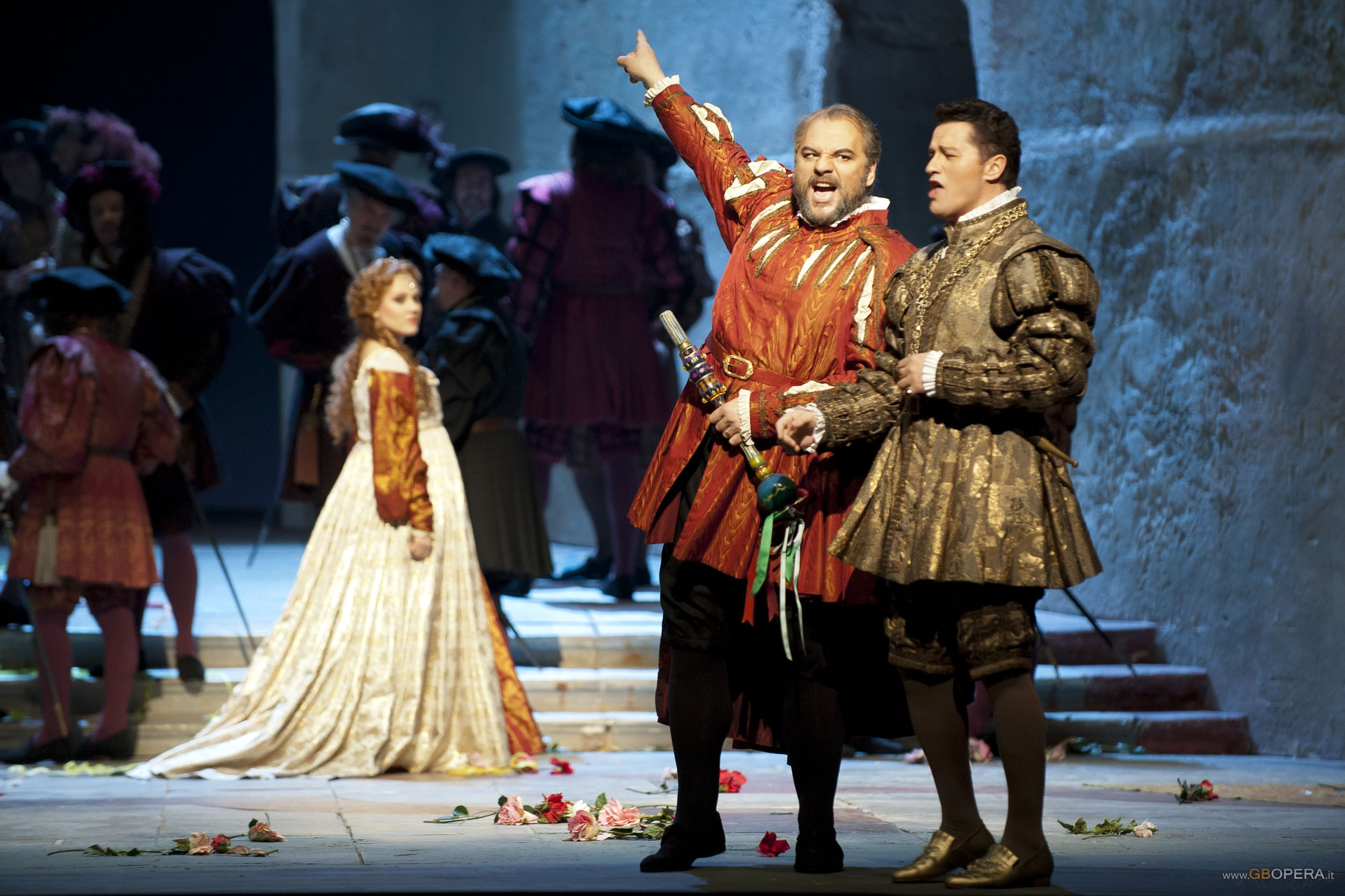 """Paris, Opéra Bastille:""""Rigoletto"""""""
