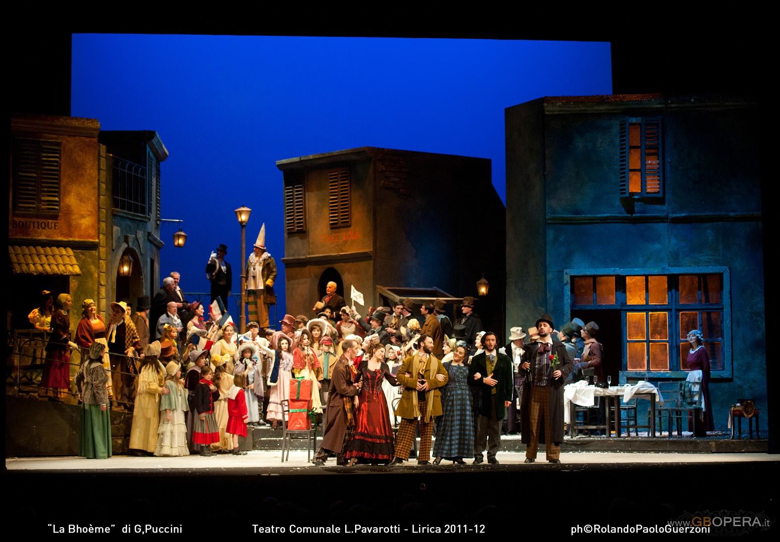 """Modena, Teatro Comunale: """"La Bohème"""""""