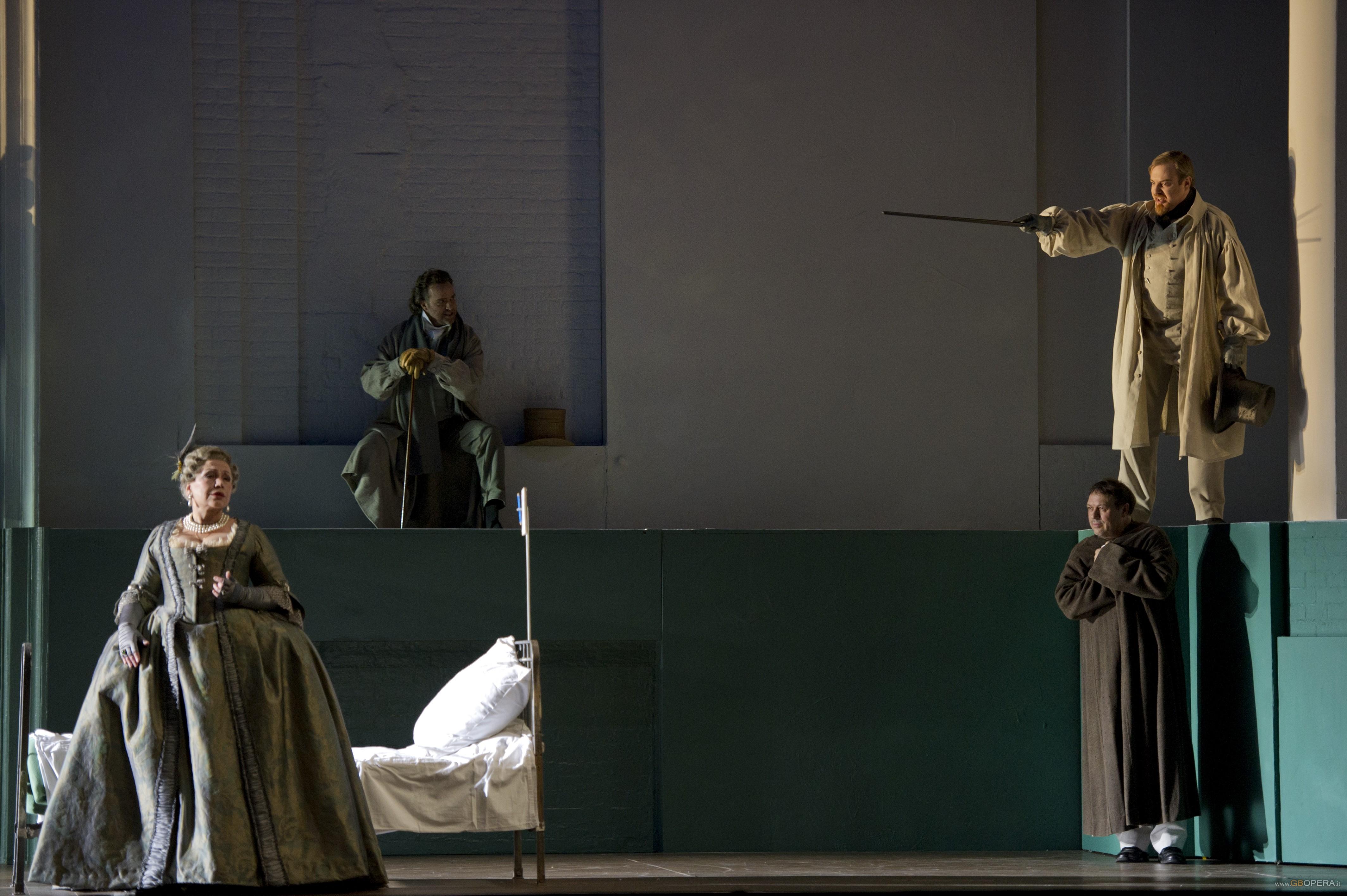 """Parigi, Opéra Bastille:""""Pikovaja Dama"""" (La dama di picche)"""