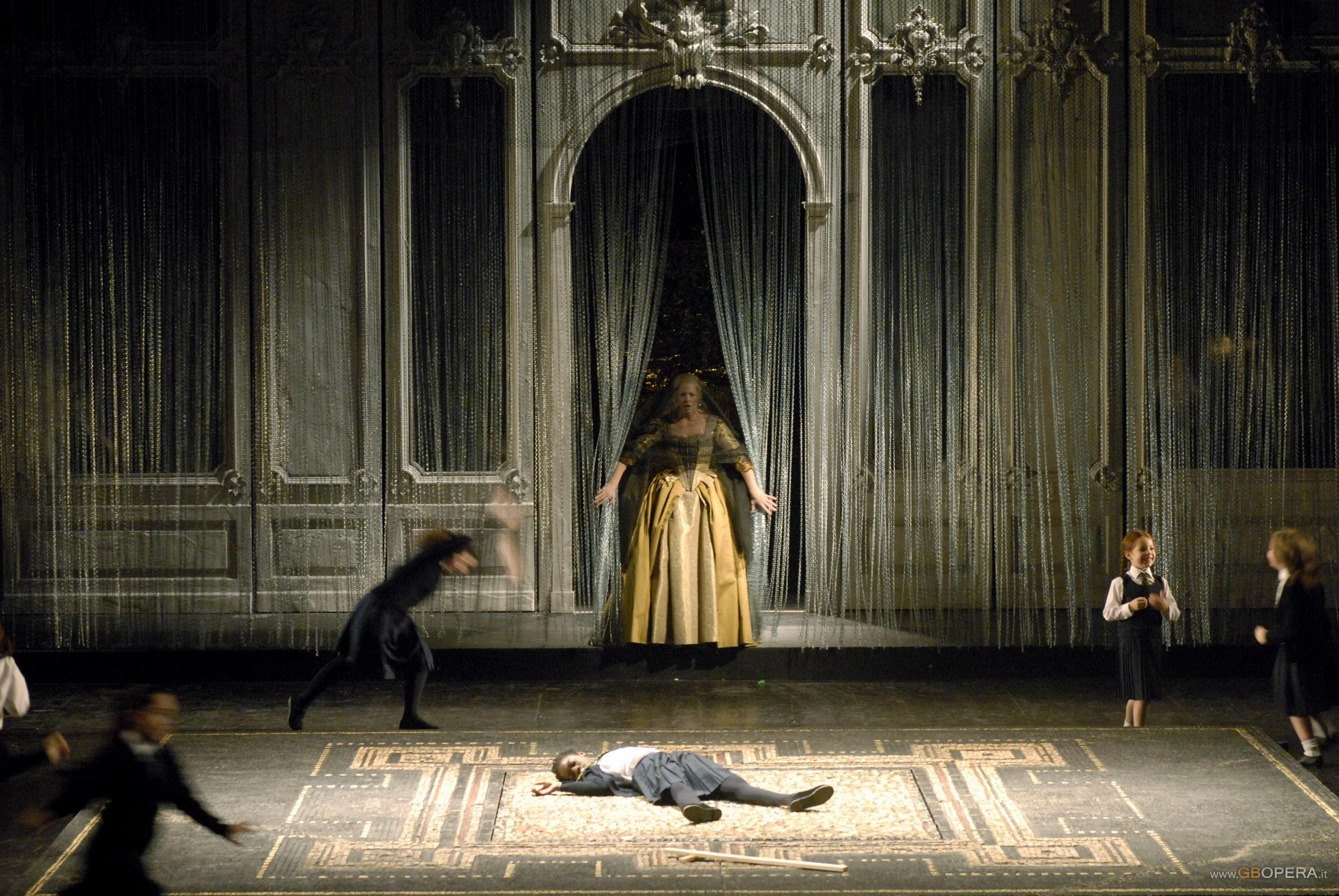 """Parigi, Opéra Comique:""""Dido and Aeneas"""""""