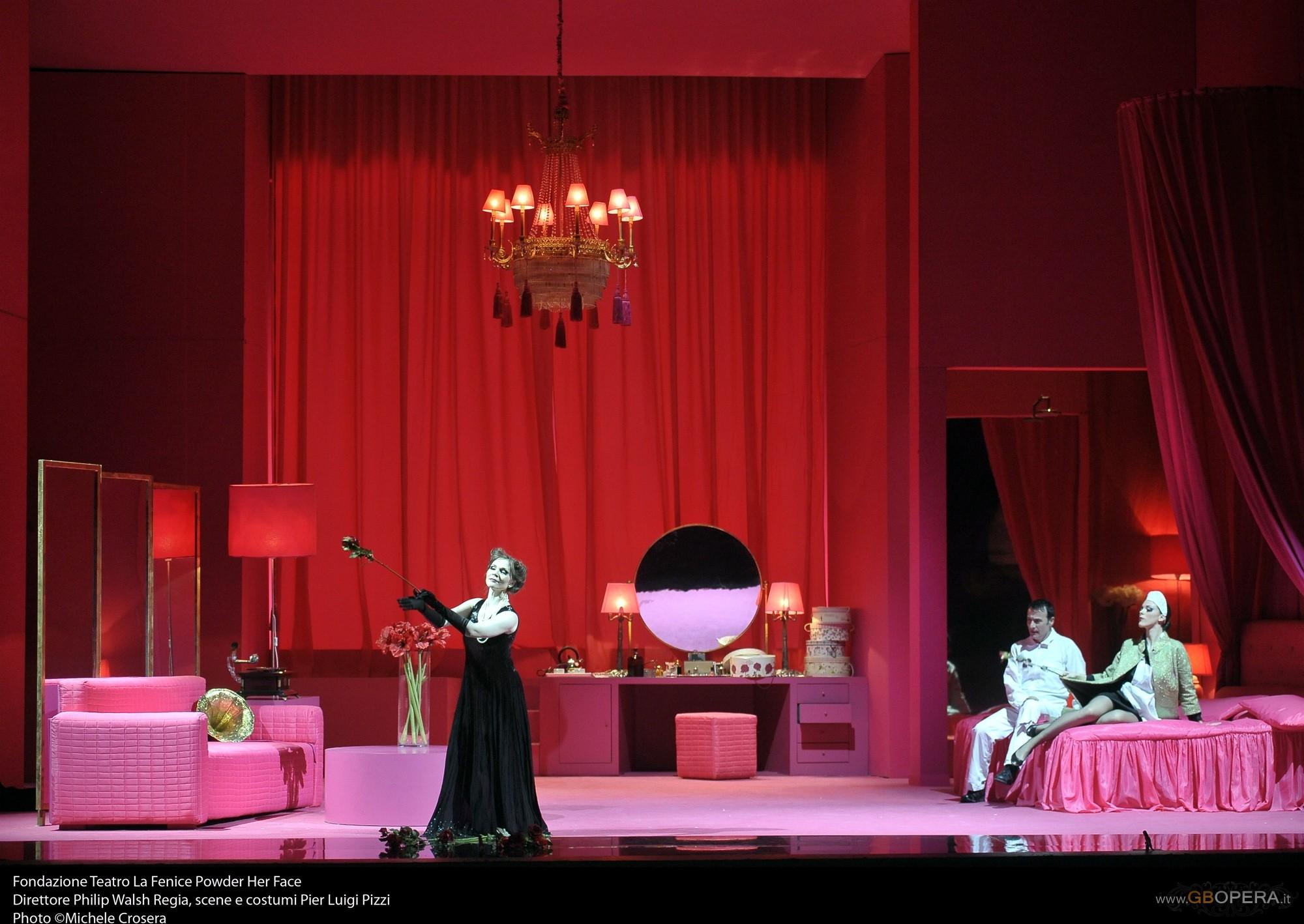 "Venezia, Teatro Malibran: ""Powder her face"""