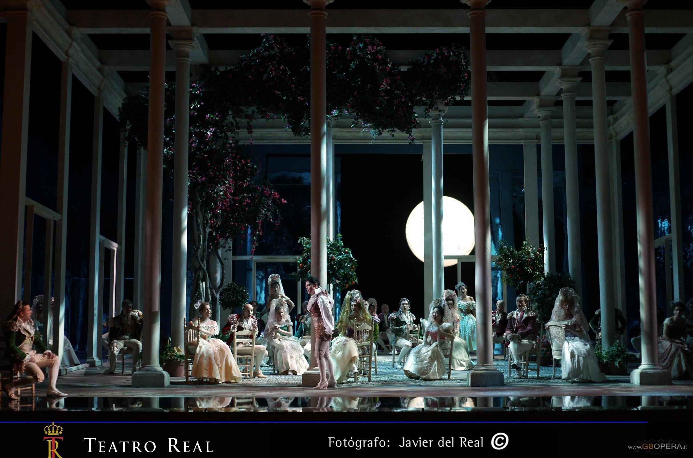 "Madrid, Teatro Real:""I due Figaro"""