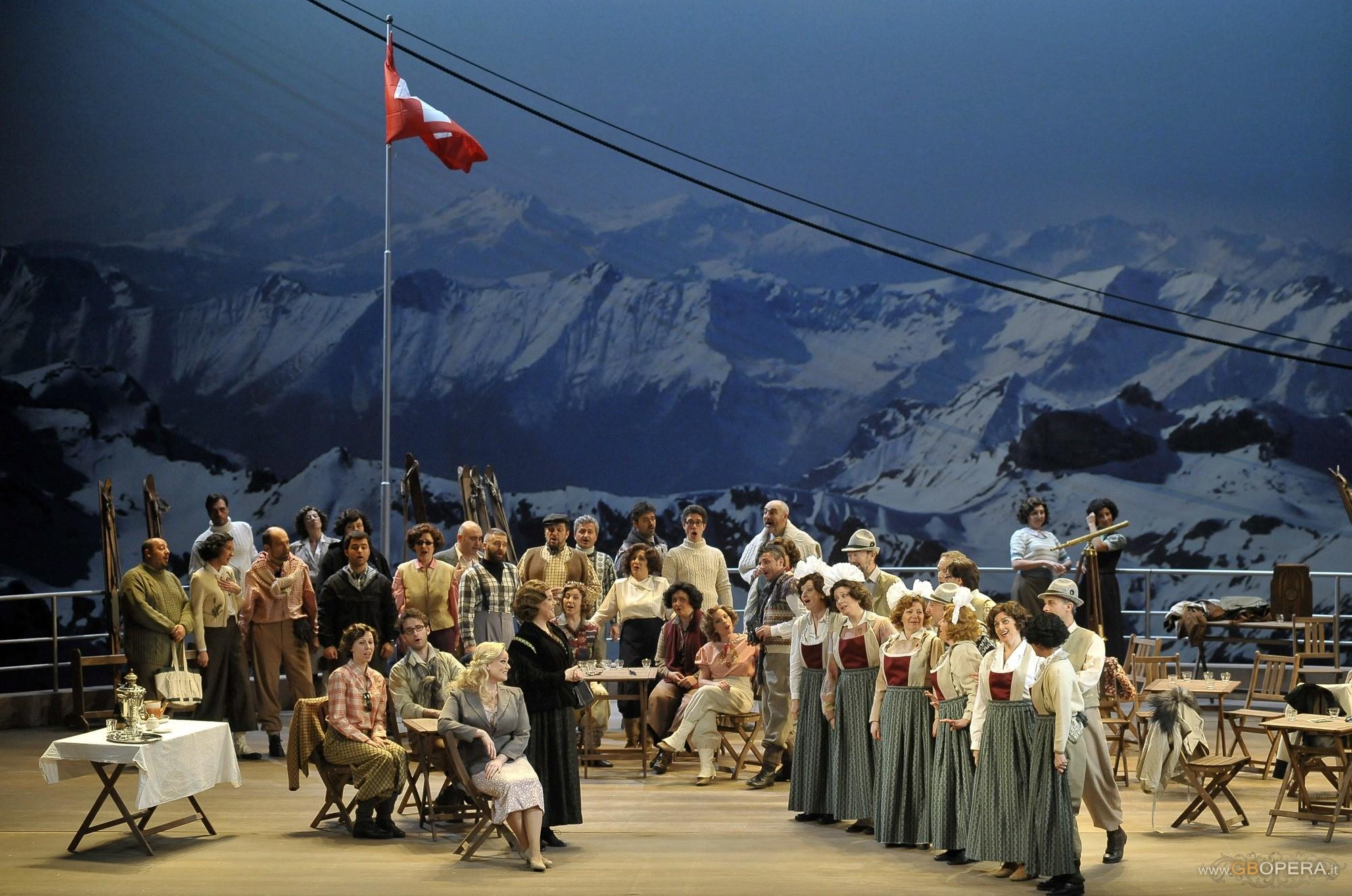 """Venezia, Teatro La Fenice: """"La Sonnambula"""""""