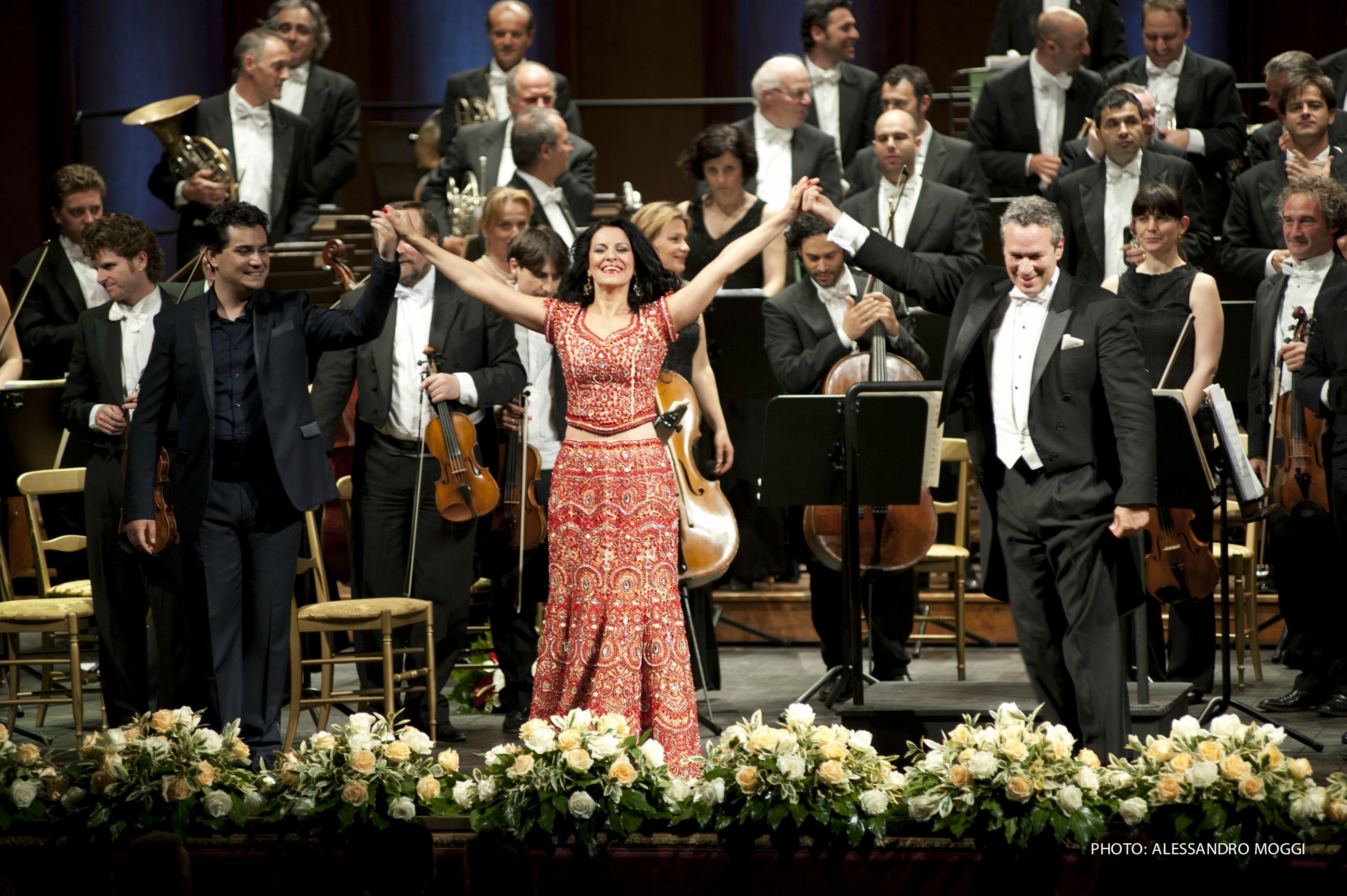 Angela Gheorghiu al primo Tuscan Sun Festival fiorentino