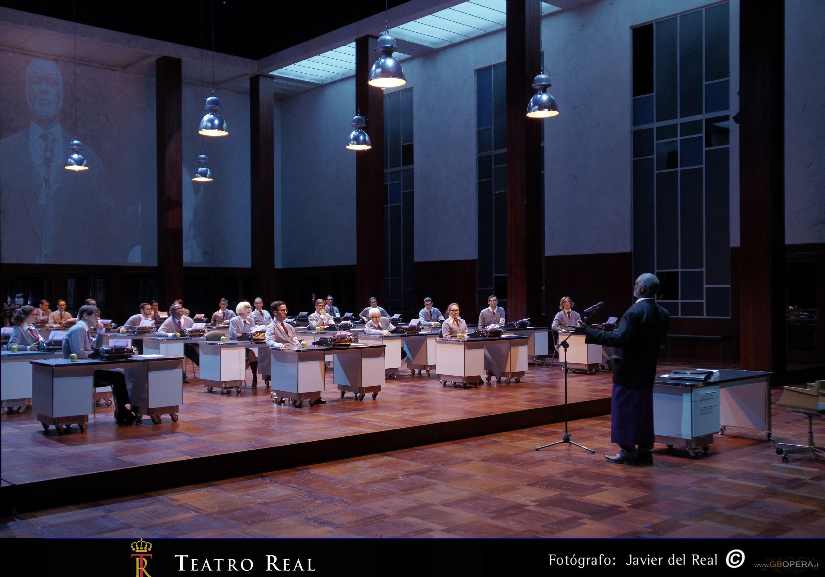"Madrid, Teatro Real:""Poppea e Nerone"""