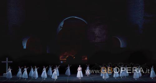 """Giselle"" alle Terme di Caracalla"