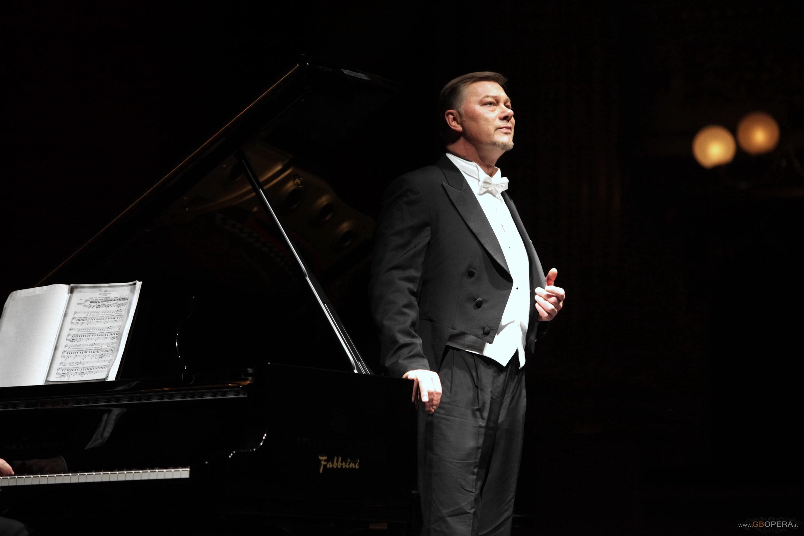 Il basso René Pape in concerto alla Scala