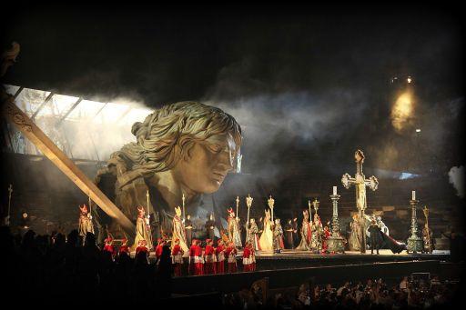 """""""Tosca"""" è l'ottavo titolo del 95° Festival Lirico all'Arena di Verona"""