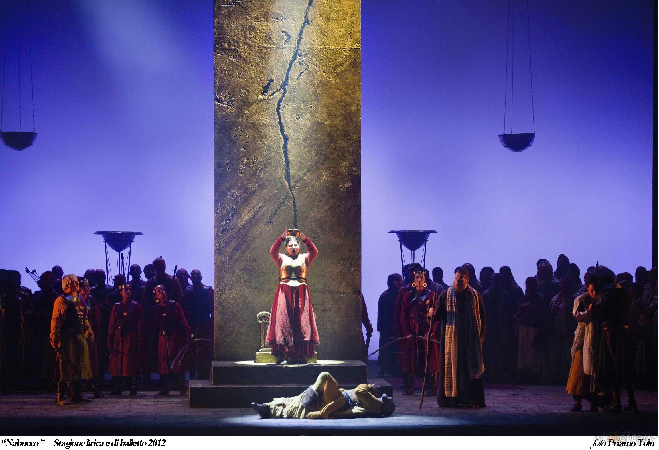 """Teatro Lirico di Cagliari:""""Nabucco"""""""