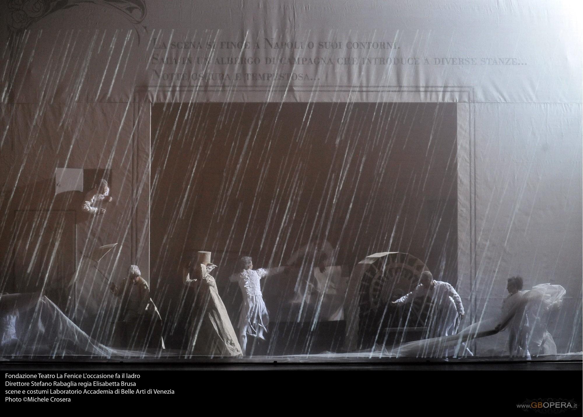 """Venezia, Teatro Malibran:""""L'Occasione fa il ladro"""""""
