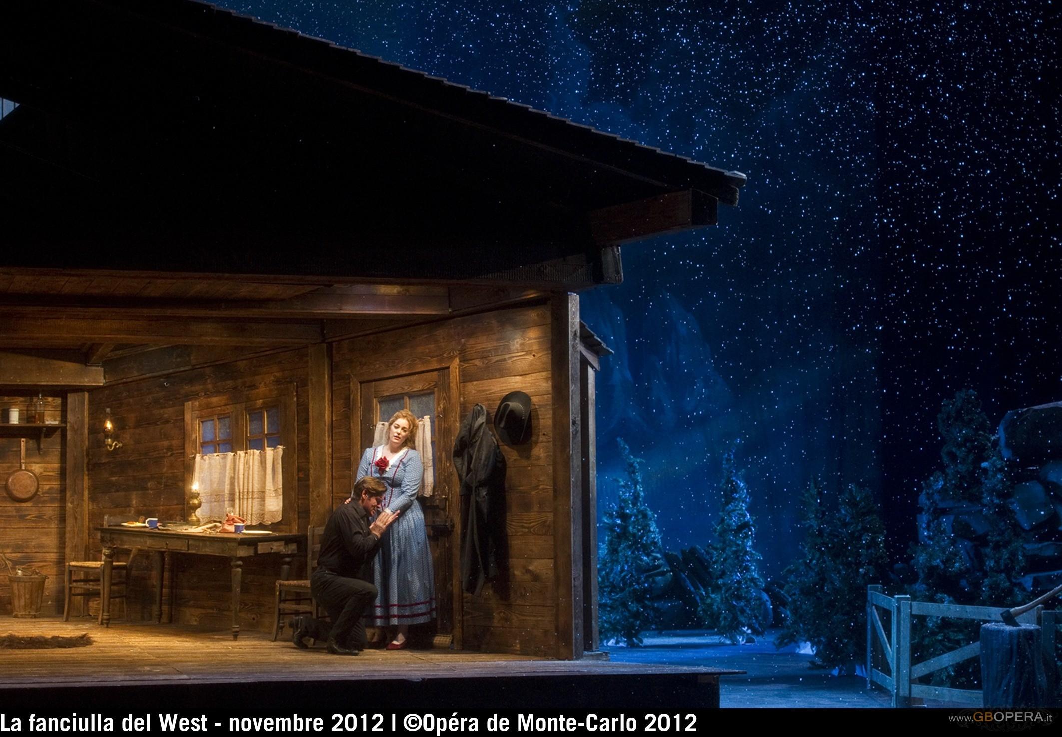 """Opéra de Monte-Carlo:""""La fanciulla del West"""""""