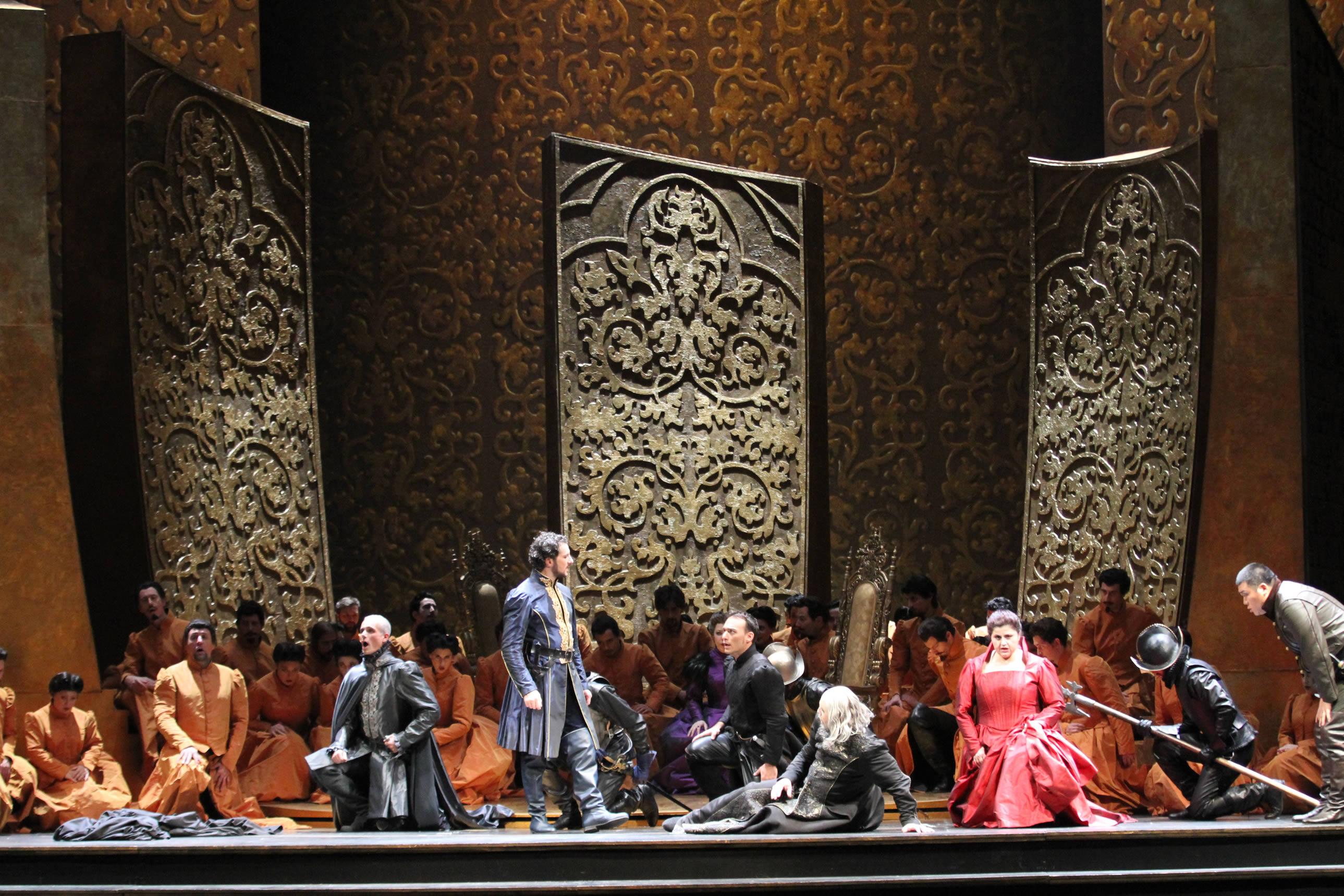 "Brescia, Teatro Grande: ""Ernani"""
