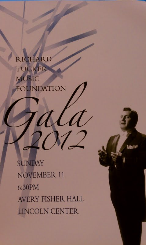 New York: Richard Tucker Gala 2012