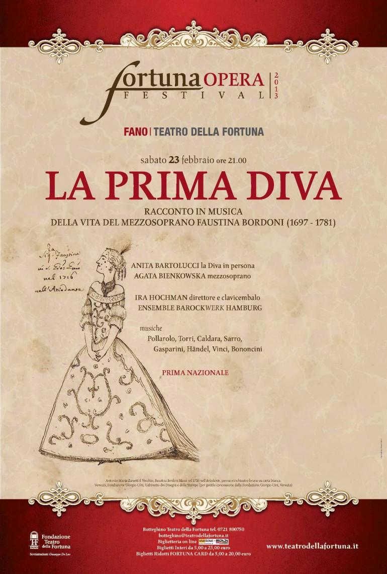 """Faustina Bordoni:""""La prima diva"""""""